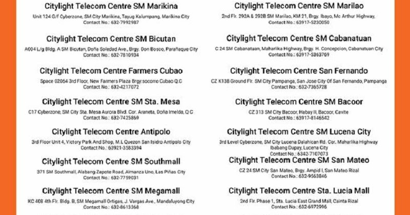 Mi Philippines Service Centers are now EXCLUSIVELY via