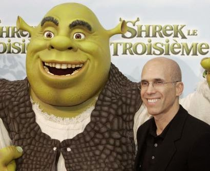 DreamWorks Animation Jeffrey Katzenberg Shrek animatedfilmreviews.filminspector.com