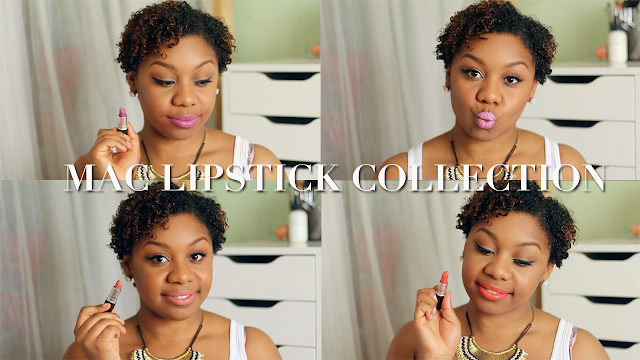 MAC Cosmetic Lipstick Collection