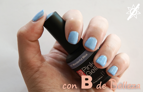 Wonderful blue Pink Gellac