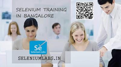 selenium automation training