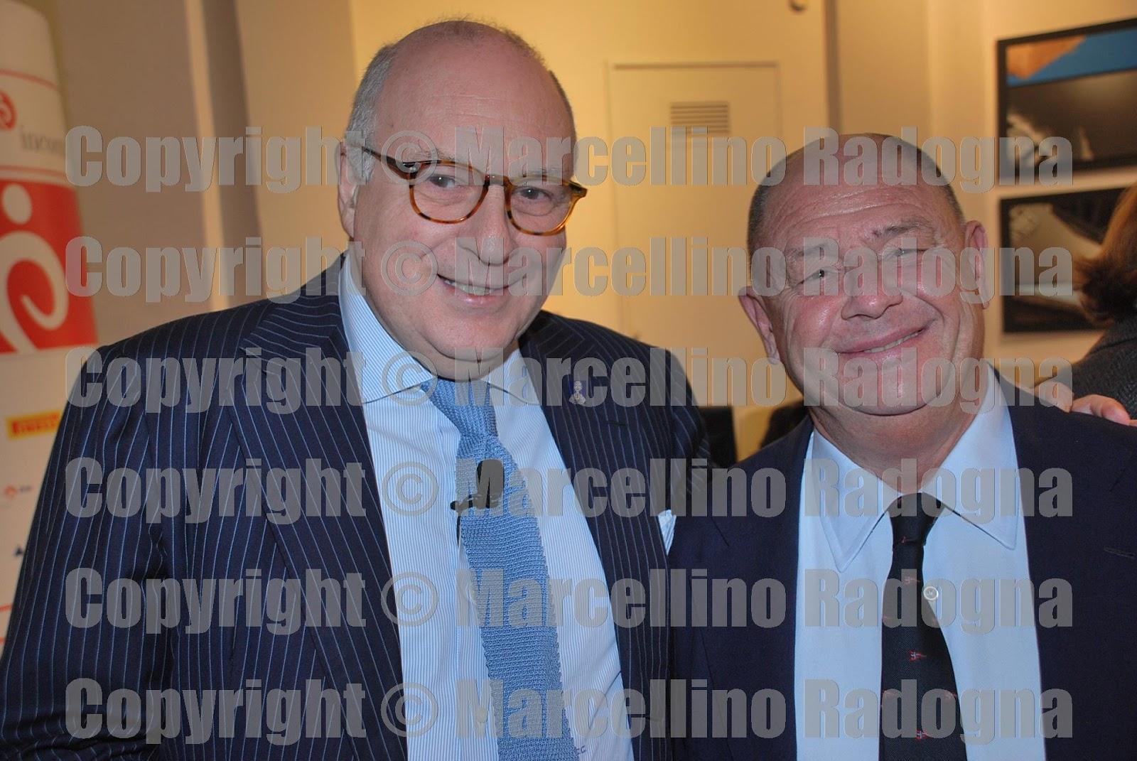 Marcellino Radogna - Fotonotizie per la stampa: Enrico Cisnetto e Paolo  Isotta