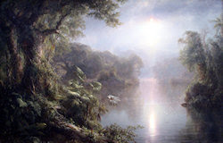 The River of Light, por Frederic Edwin Church