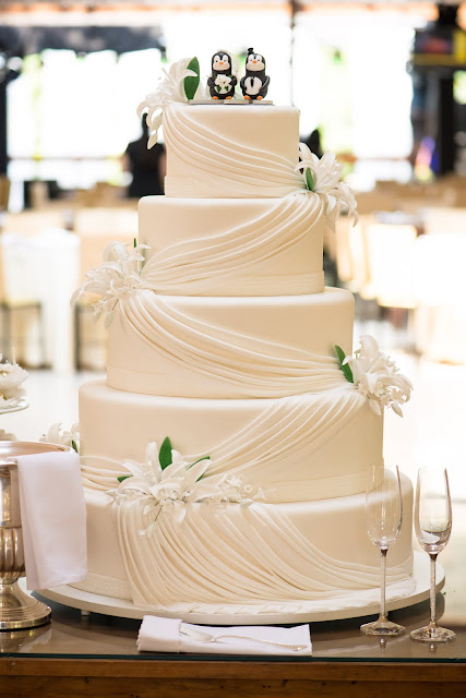 casamento real, casamento guim, detalhes, topo de bolo, pinguim, maquete de bolo, bolo de casamento