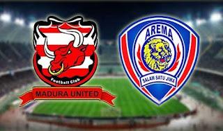 Arema FC Tumbang di Kandang Madura United
