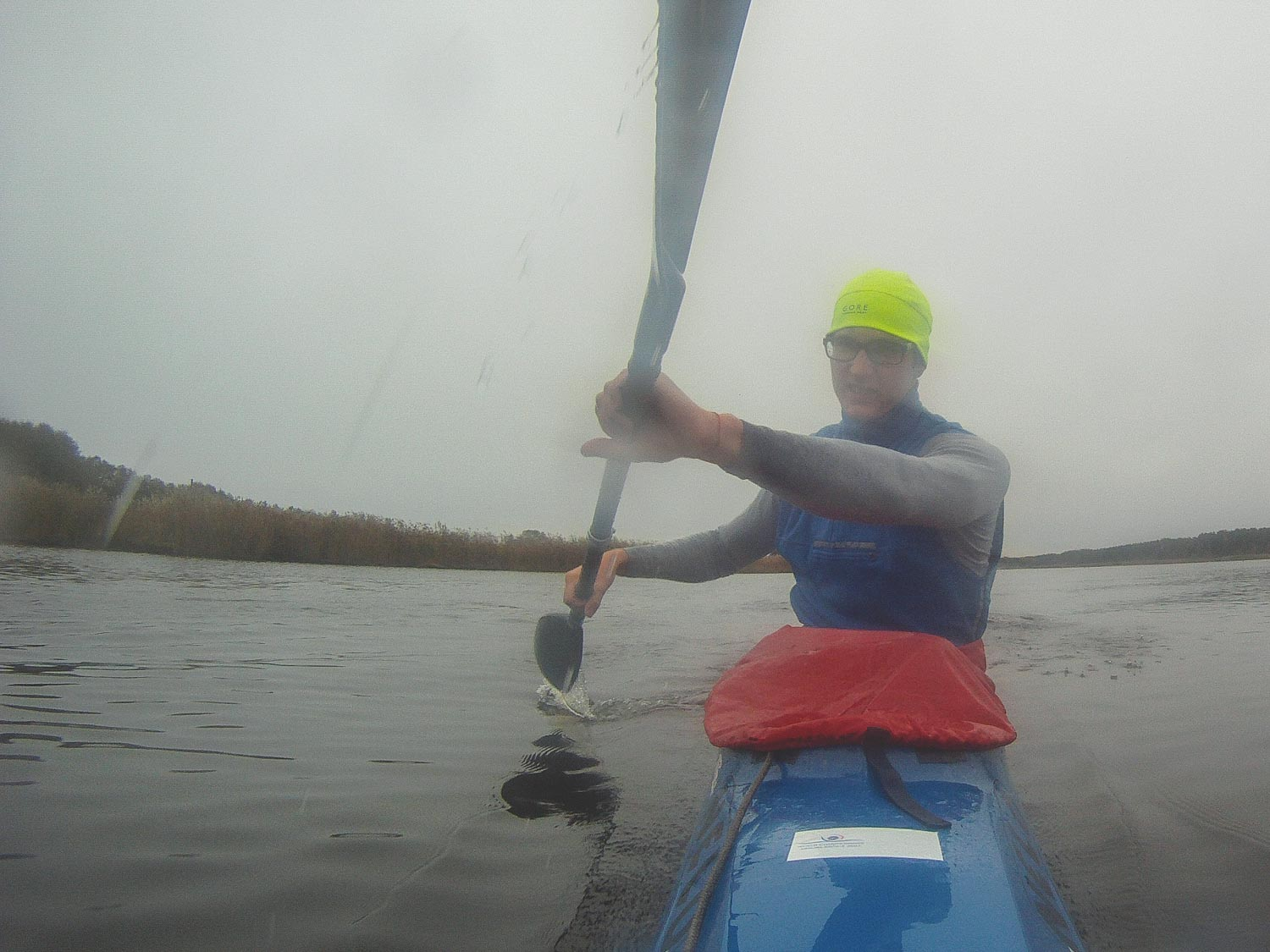 Low intensity training in kayaking
