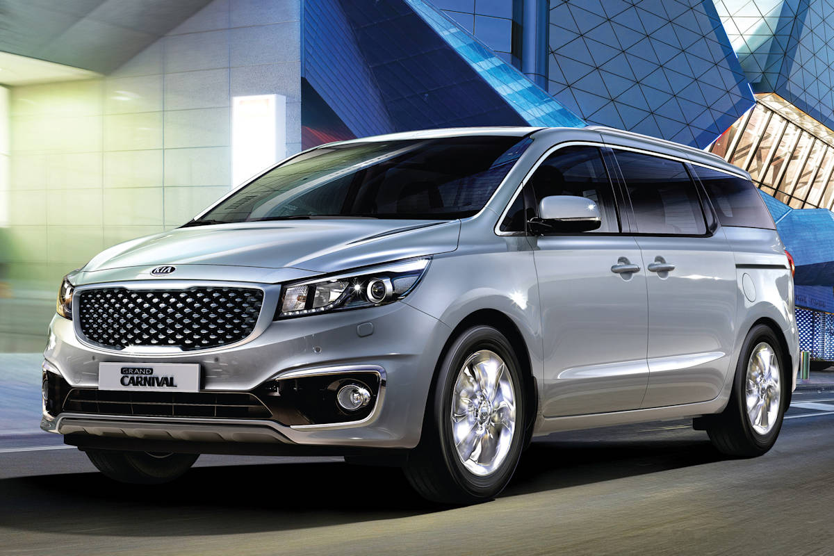 Kia Grand Carnival Now Available With Optional Leather