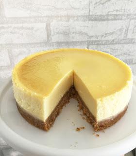 Baking Mom: Light New York Cheesecake