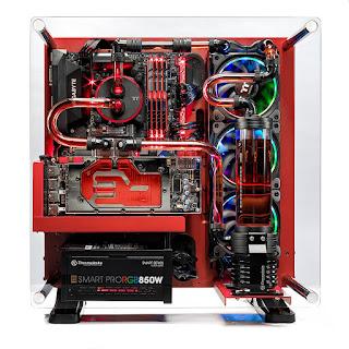 Skytech Supremacy X PLUS Gaming Computer PC Desktop - i7-7700K, 500GB Samsung 960 Evo SSD, GTX 1080 Ti 11GB, 360mm CPU & GPU Water Cool, 2TB, 32GB DDR4