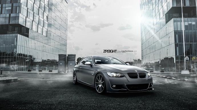 Wallpaper: Customized BMW E93