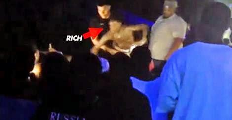 Rich Homie Quan Pimp Slaps Thirsty Fan