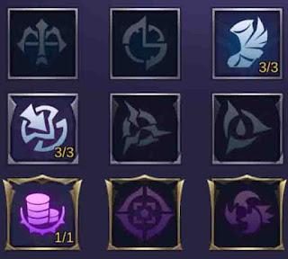 Agar damage yang di keluarkan lesley sakit maka gunakan emblem assassin