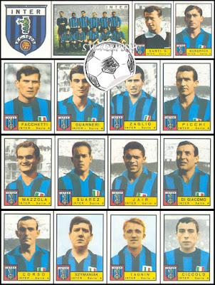 Figurine Panini Inter 1963/64