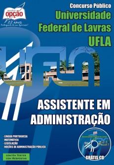 Apostila UFLA 2015 Assistente em Administração