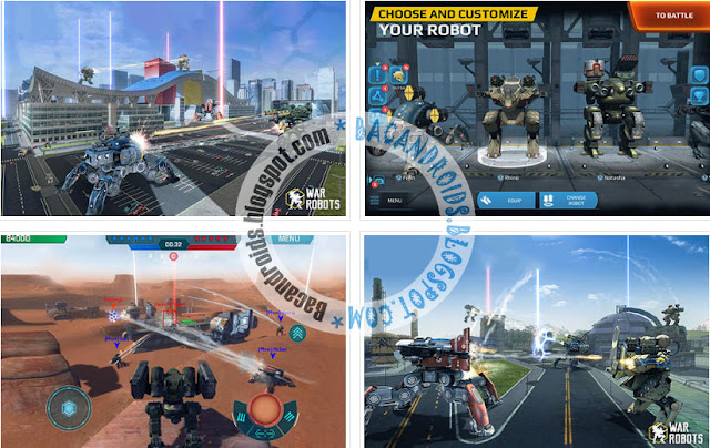 Download War Robots Apk + Data Obb Mod Hack VIP Premium For Android Terbaru