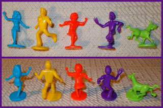 50mm Figures; Board Game; Board Game Playing Pieces; Boardgame Pieces; Daphne; Film Character; Game Counters; Game Playing Pieces; Made In America; Movie Promotional; Polypropylene Toys; Pressman Toy Corp.; Scoobie-Doo Cyber Chase; Scooby Doo; Shaggy; Small Scale World; smallscaleworld.blogspot.com; TV And Film-Related; TV Cartoon; TV Characters; TV Related; TV Tie Ins; TV Toys; Scooby-Doo.; Shaggy Rogers.; Fred Jones.; Daphne Blake.; Velma Dinkley.