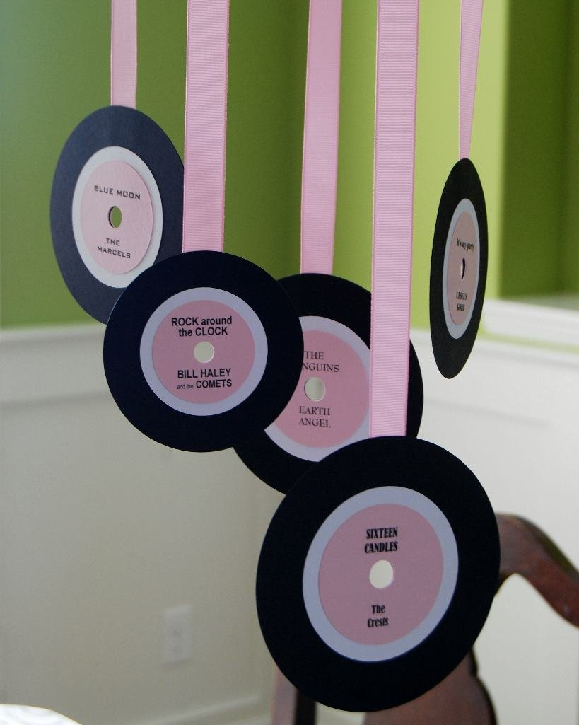 snippets by mendi a 1950 39 s girls rock roll birthday party. Black Bedroom Furniture Sets. Home Design Ideas