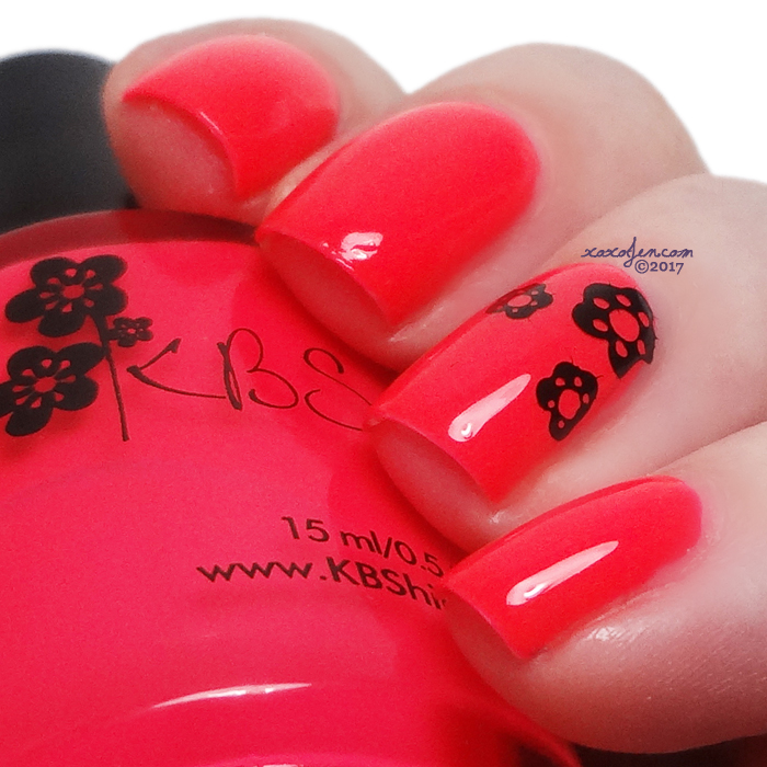 xoxoJen's swatch of KBShimmer Color Me Rad