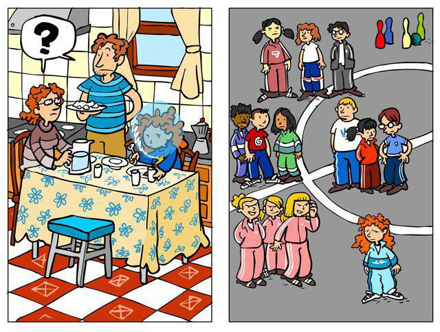 Imagenes Para Colorear De Bullying