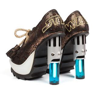 Zapatillas y moda exótica