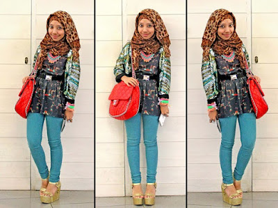 Fashion Hijab Untuk Orang Pendek 6