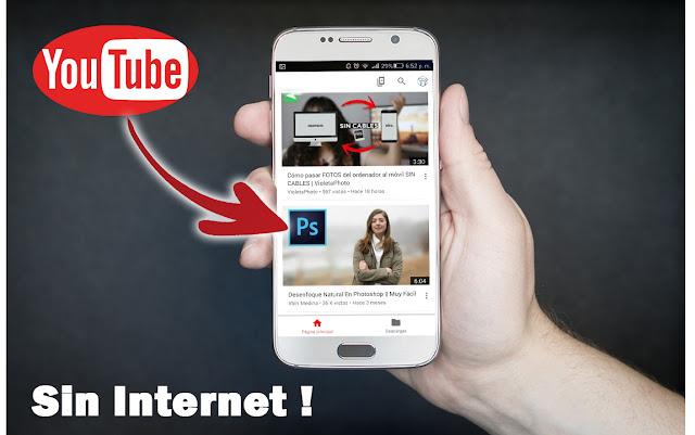 La aplicación que te permite ver vídeos de Youtube sin Internet