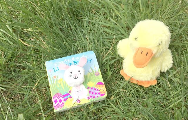 Hippity Hoppity Little Bunny Parragon Finger Puppet Baby Book