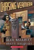http://www.amazon.com/Chasing-Vermeer-Blue-Balliett/dp/0439372976/ref=sr_1_1?s=books&ie=UTF8&qid=1462840004&sr=1-1&keywords=chasing+vermeer