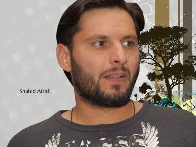 Latest Shahid Afridi HD Wallpapers
