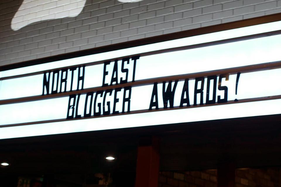 Hello Freckles North East Blogger Awards Lane 7
