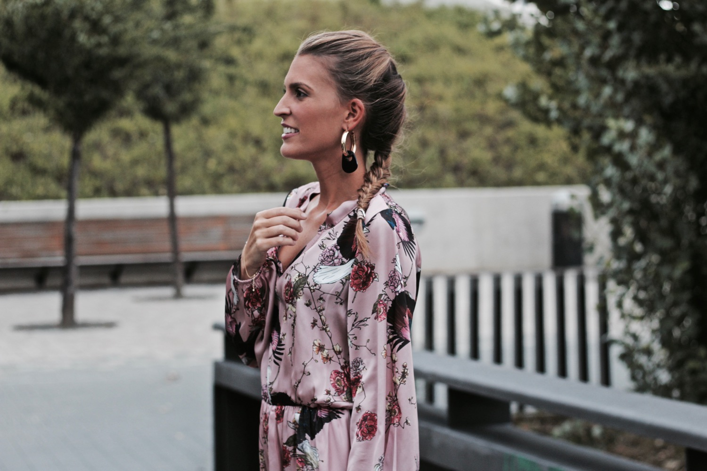 vestido oriental largo
