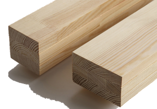 Gỗ ghép Thông khối hộp vuông chữ nhật phù hợp làm xà nhà, cột nhà, chân bàn, chân ghế, tay vịn cầu thang