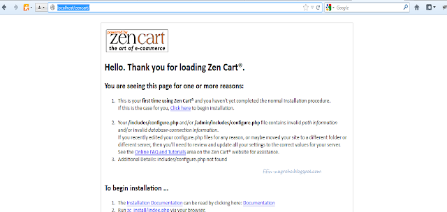 instalasi zencart part 1