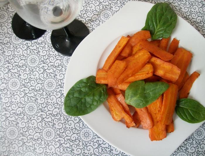 przepis na frytki z marchewki