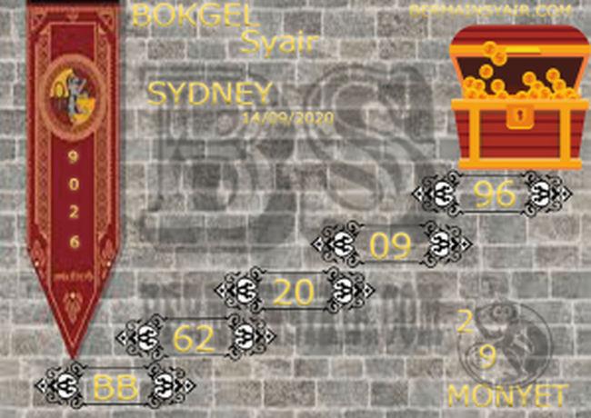 Kode syair Sydney Senin 14 September 2020 226