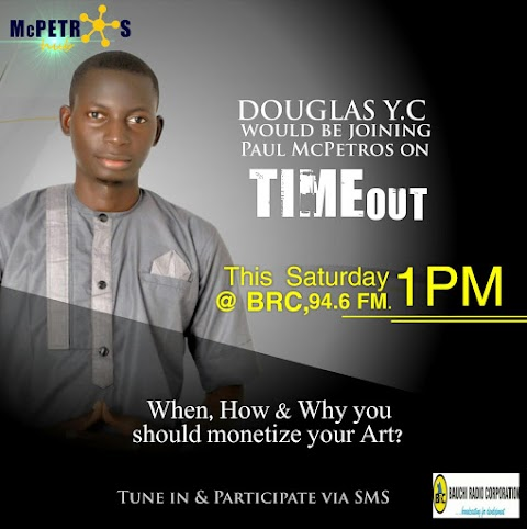 TIME OUT WITH PAUL MCPETROS (BRC 94.6 1pm Saturdays)