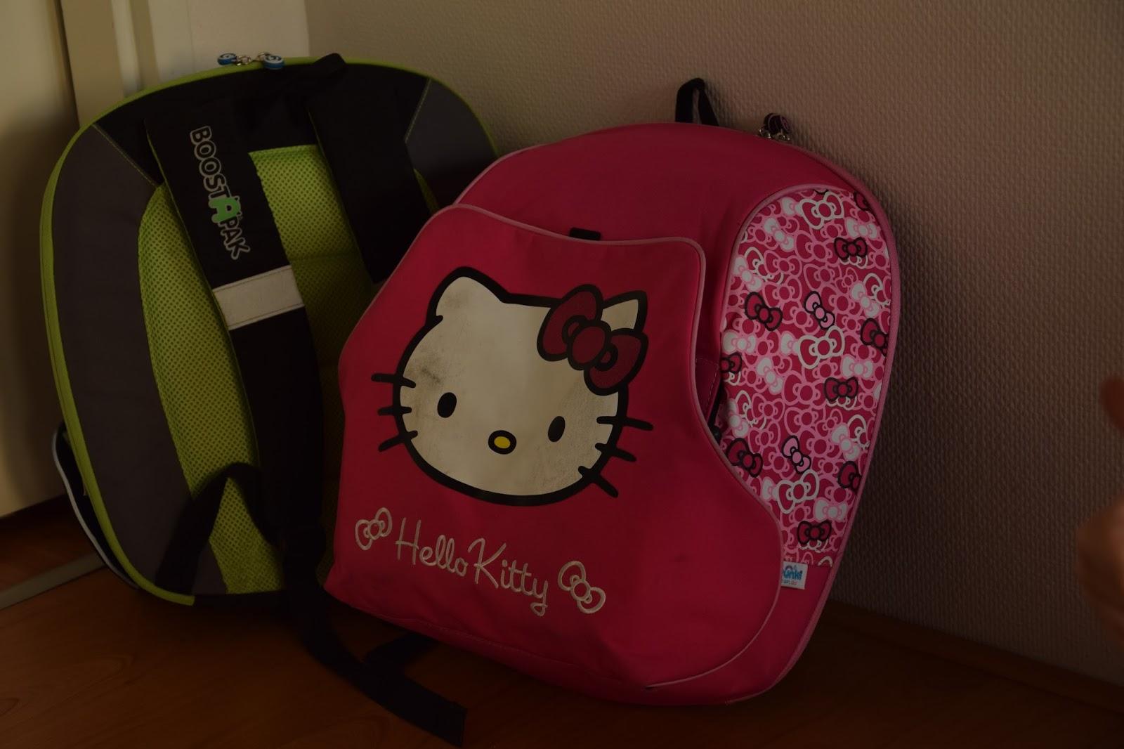 podróże z dziećmi bagaż plecaki podkładki Trunki