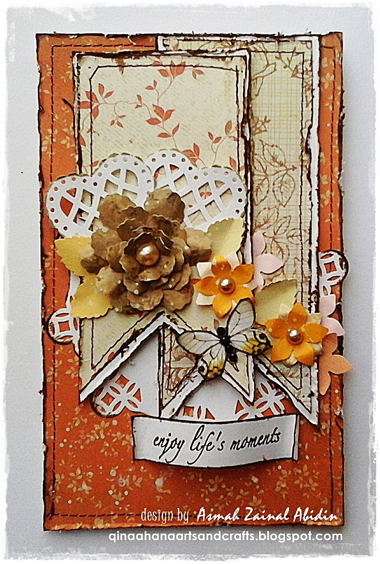 for this shabby chic card: