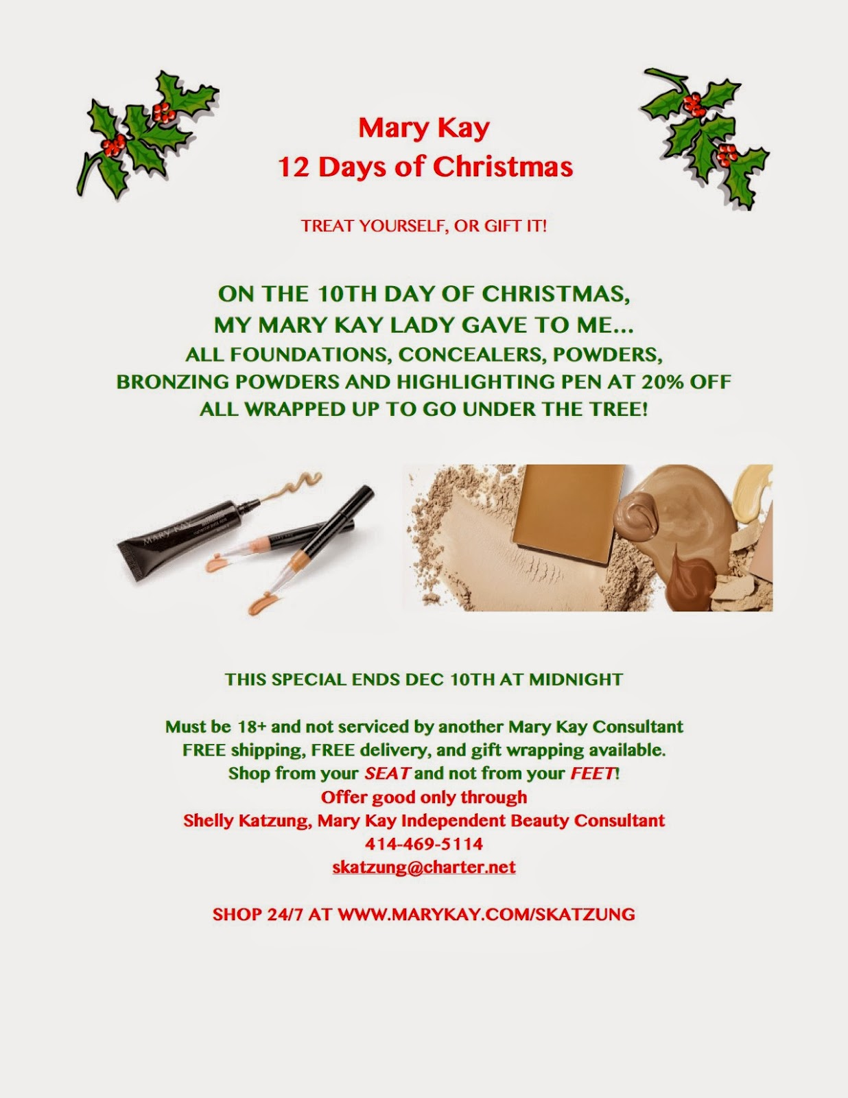 Mary Kay Christmas Images.Now You Re Chalking Mary Kay 12 Days Of Christmas Sale Day 10