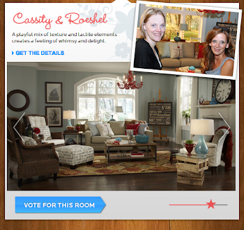 Did You Enter to Win new flooring and Vote for Cassity & Roeshel today? Please do!