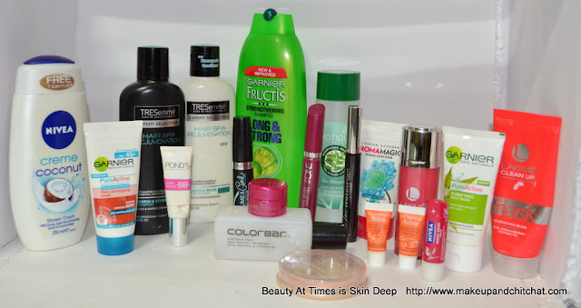 Beauty Empties of September 2015