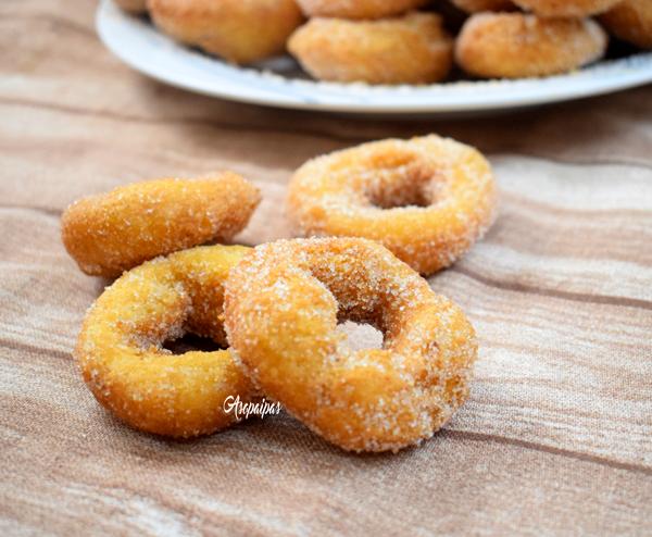 Roscos Fritos de la Abuela Pili. Vídeo Receta