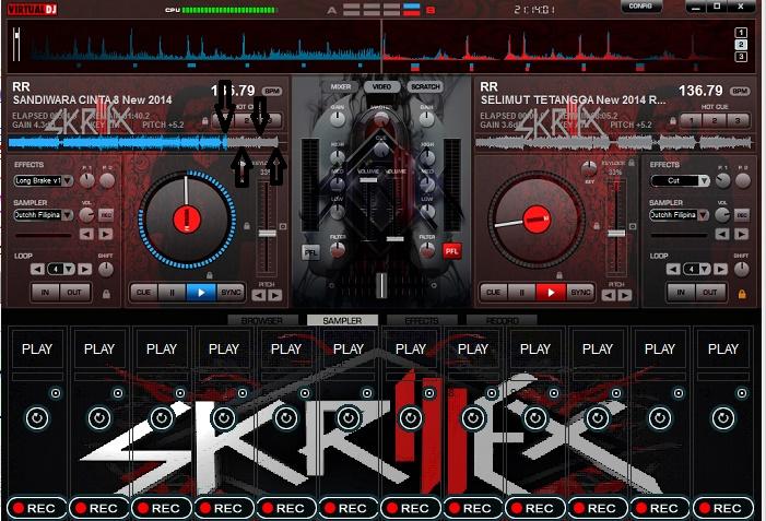 TUTORIAL MIXING VIRTUAL DJ funkot & breakbeat - ZonaClub
