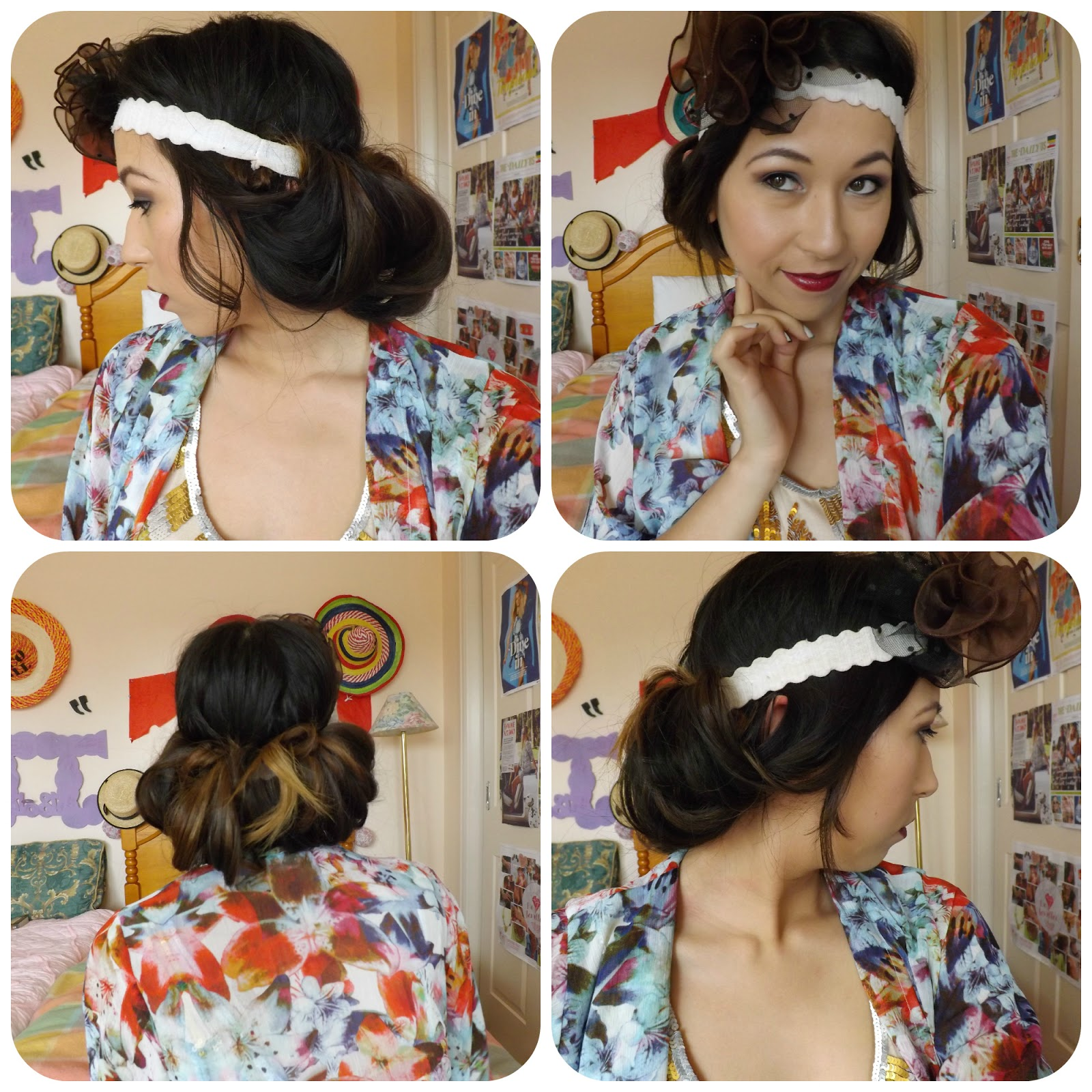 Pleasing Great Gatsby Inspired 1920S Makeup Amp How To Create A Faux Bob Short Hairstyles Gunalazisus
