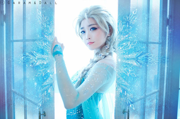 Coser Tomia (Spiral Cats team) cosplay Frozen