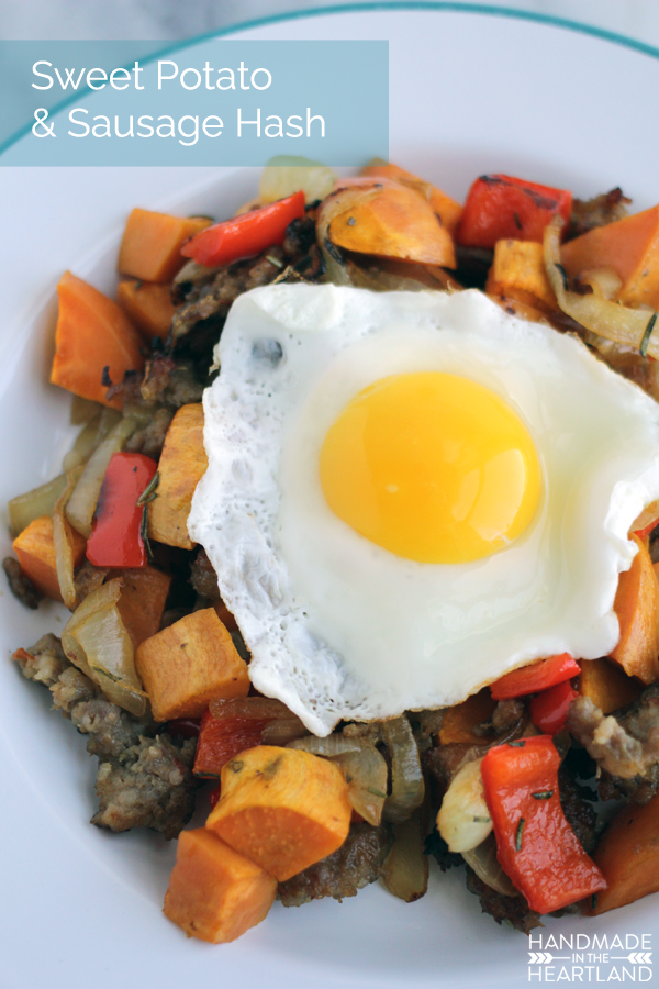 Try this Sweet Potato & Sausage Breakfast Hash, Paleo Recipe for your holiday guests.