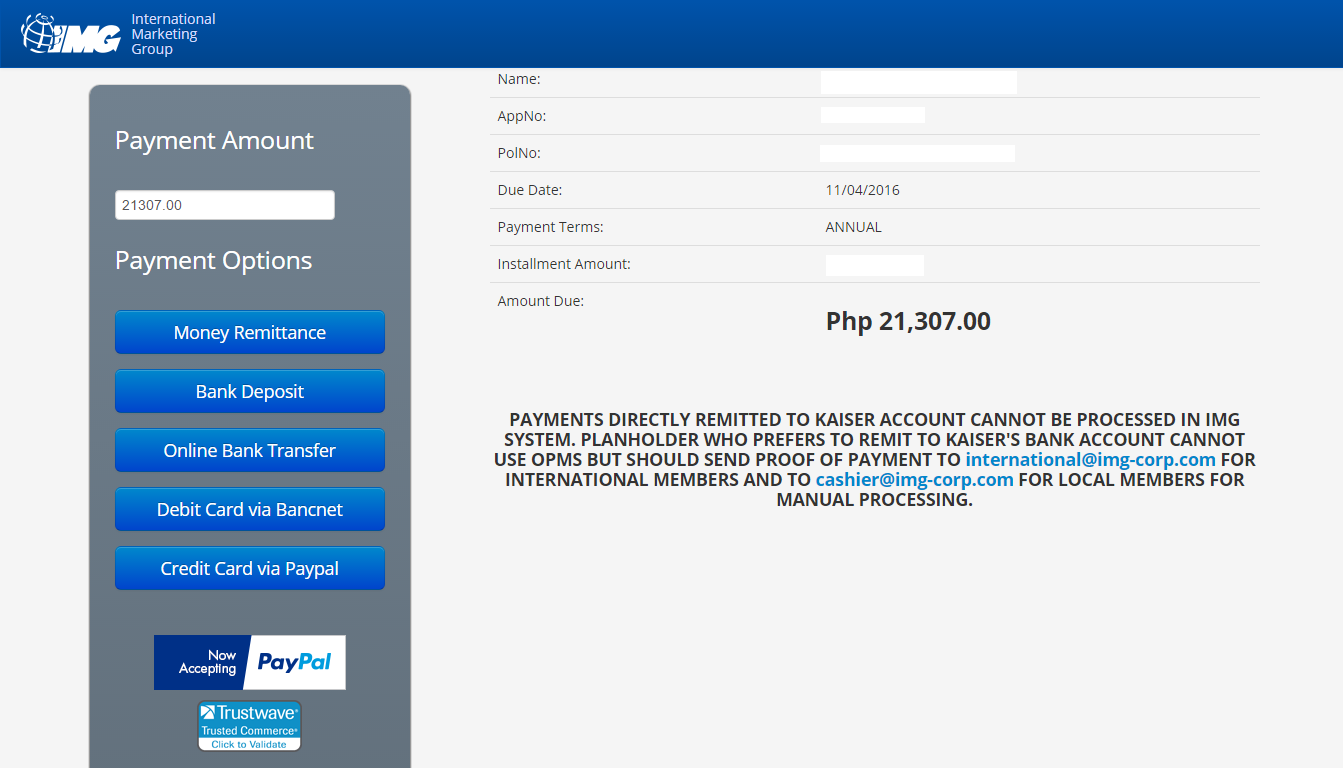 Payment Options for your Kaiser Healthcare Account ...