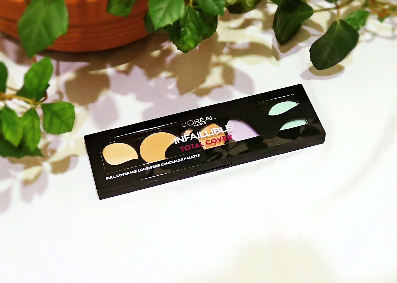 L'ORÉAL - Infaillible Total Cover Palette | paleta z korektorami do twarzy