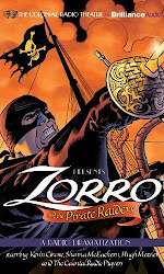 Zorro And The Pirate Raiders Full-Cast Audio Drama