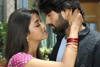 Pooja Jhaveri romancing Vijay Devarakonda in movie Dwaraka (11).jpg